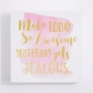 Make Today Awesome Wall Art NEW